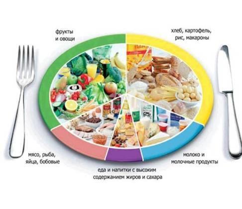 Пропорции продуктов