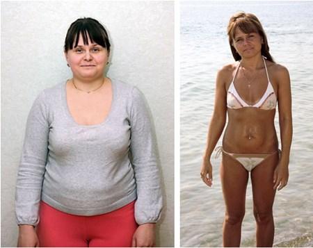 L-карнитин - до и после