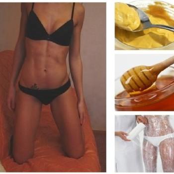 Медовое обертывание для похудения отзывы и результаты
