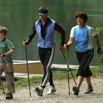 Скандинавская ходьба техника ходьбы для похудения видео