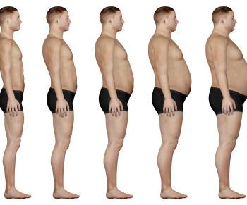 Таблица роста и веса для мужчин