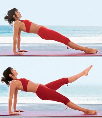 Упражнение для похудения внутренней части бедра