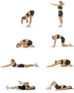 Упражнения для красивого силуэта боков