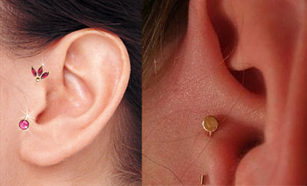 Иглоукалывание уха