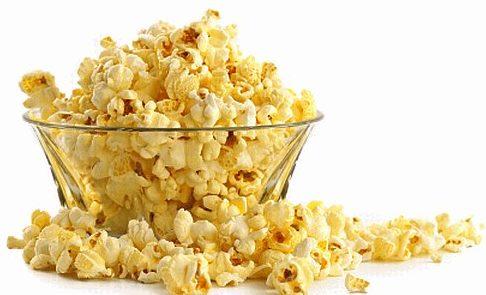 Сколько калорий в попкорне