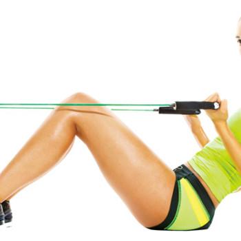 Упражнения с эспандером для похудения видео